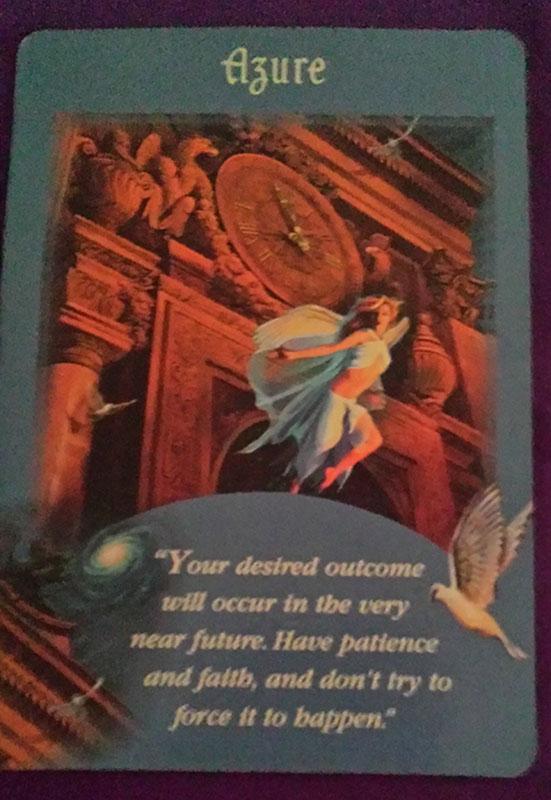 Angel Card Reading Azure