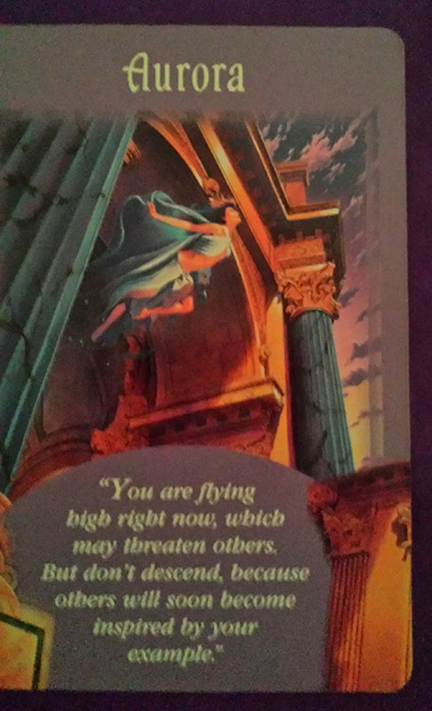 angel card reading aurora